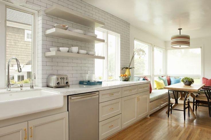 8 consigli su come fare sembrare pi grande una cucina - Arredare cucina grande ...