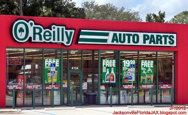 Auto parts store jacksonville fl