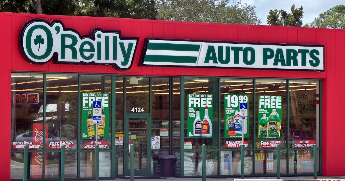 O Reilly Auto Parts Jacksonville Beach Florida