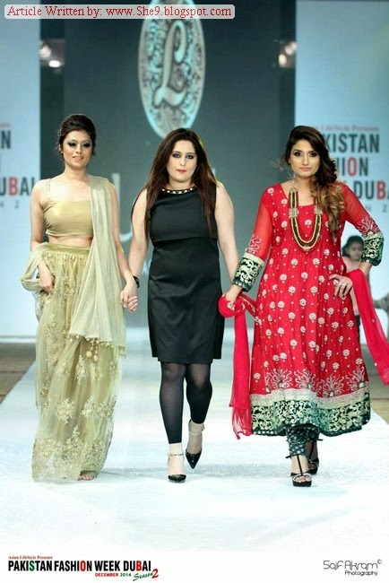 Lakksh-Asma Malik Pakistan Fashion Week 2014-2