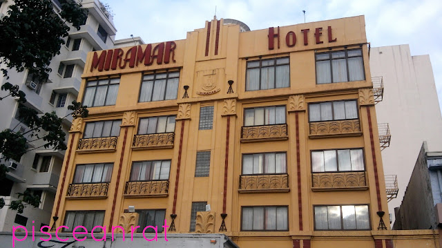 First up, Miramar Hotel in 1034-1036 Roxas Blvd. cor UN Ave., Ermita, Manila.