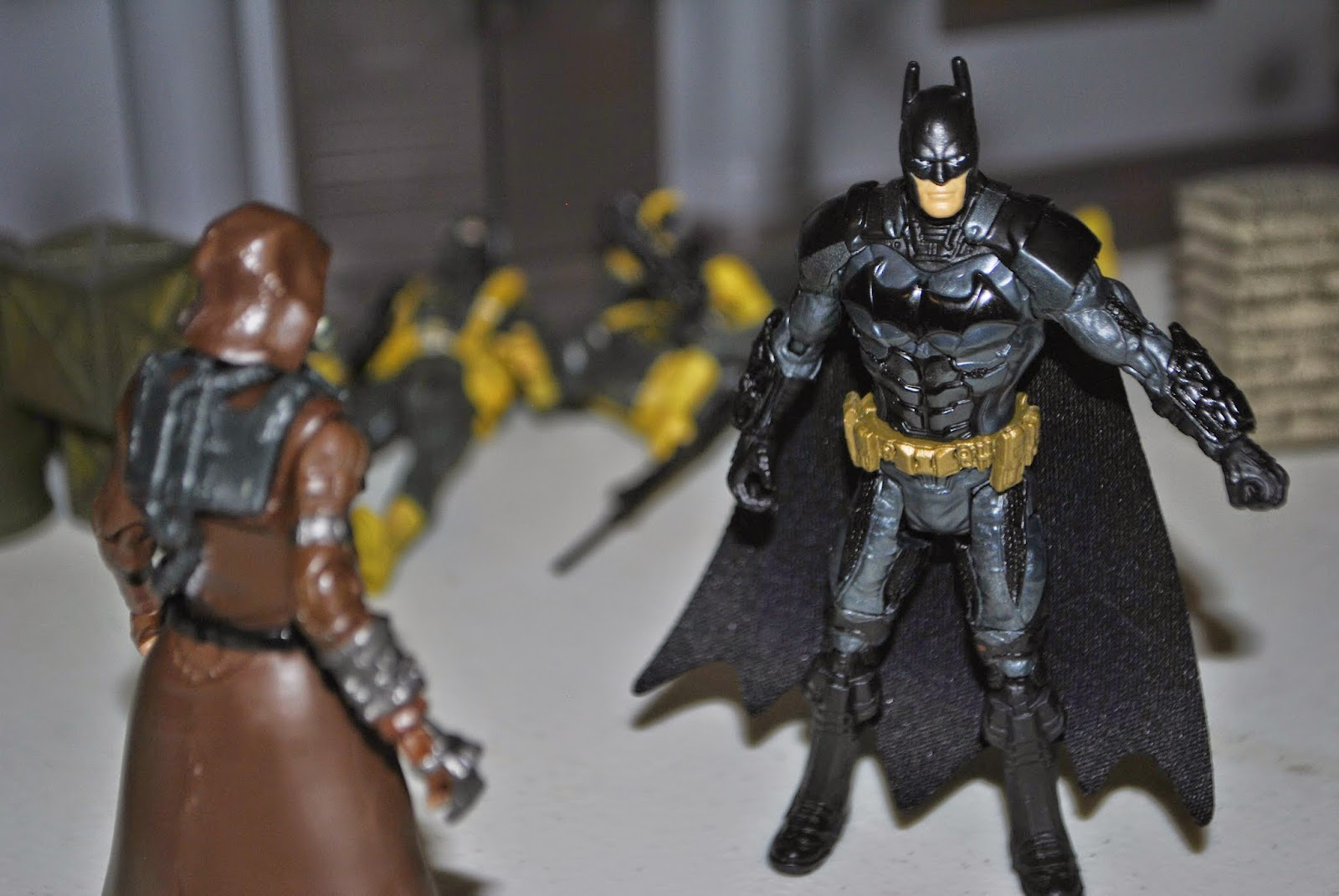 the mojoverse dc multiverse wave 3 arkham knight scarecrow