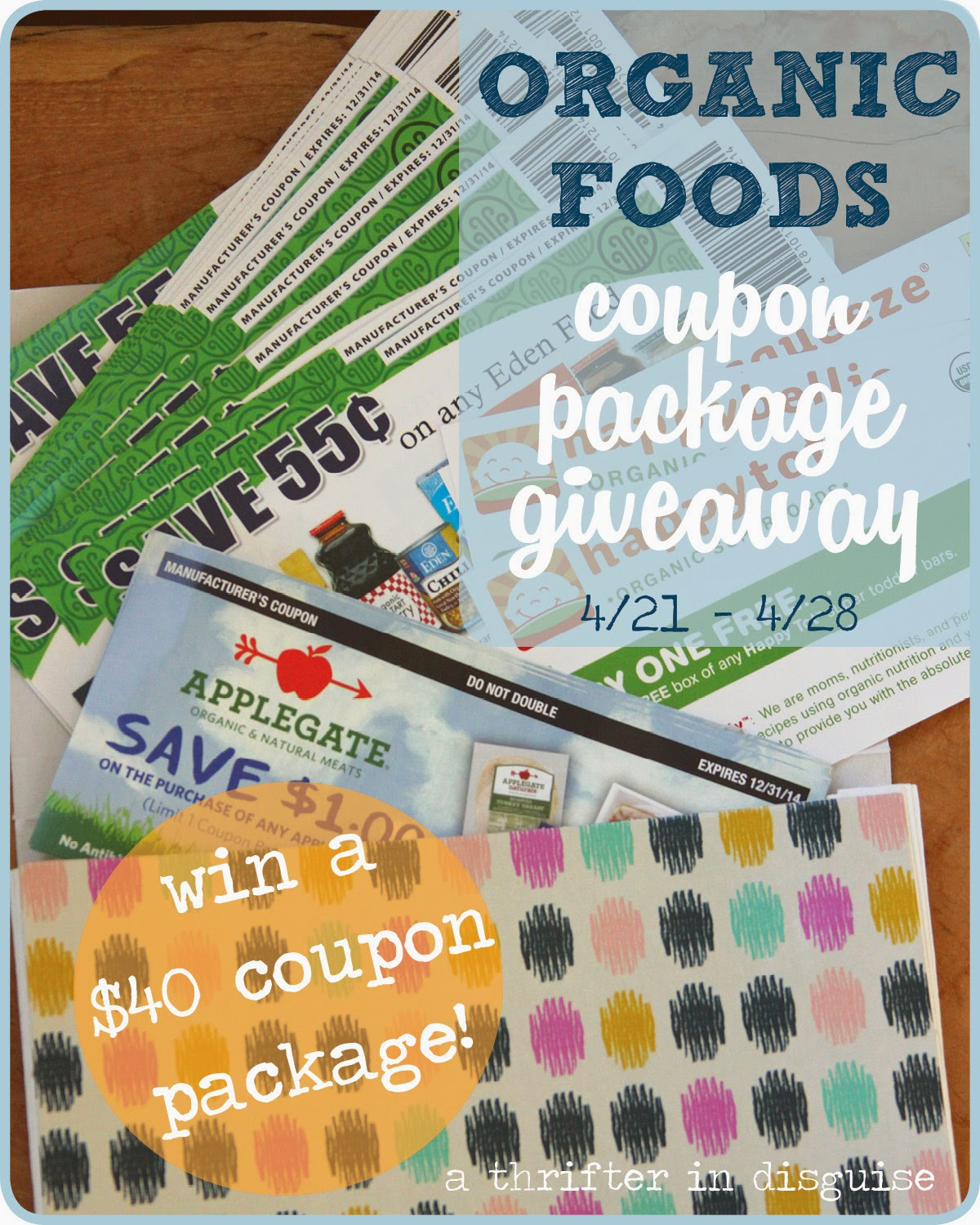 coupons for organic foods