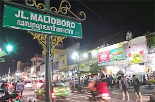 The Road Of Malioboro Jogja