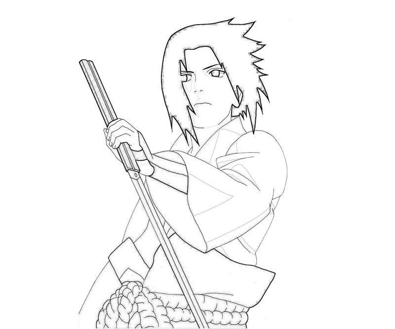 Naruto Sasuke Ninjutsu How Coloring