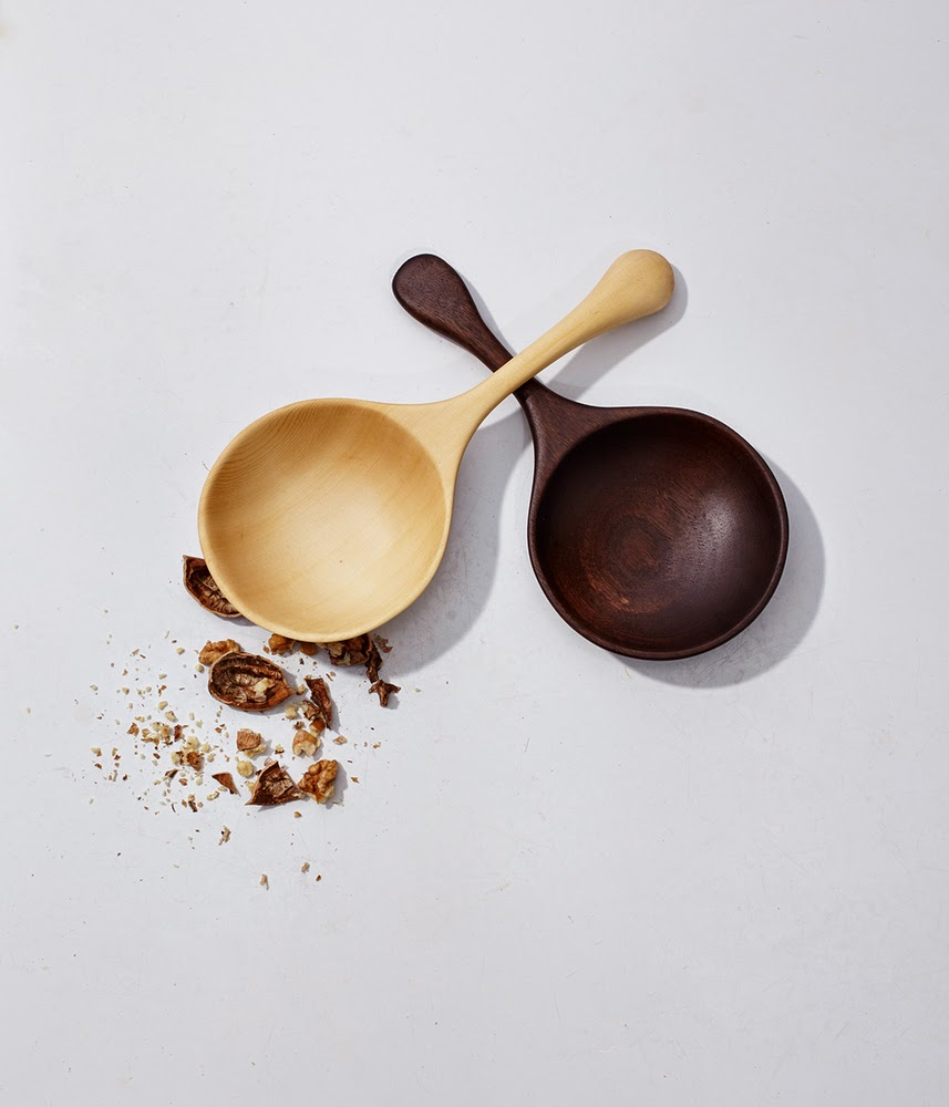 2 wooden spoons Herriott Grace