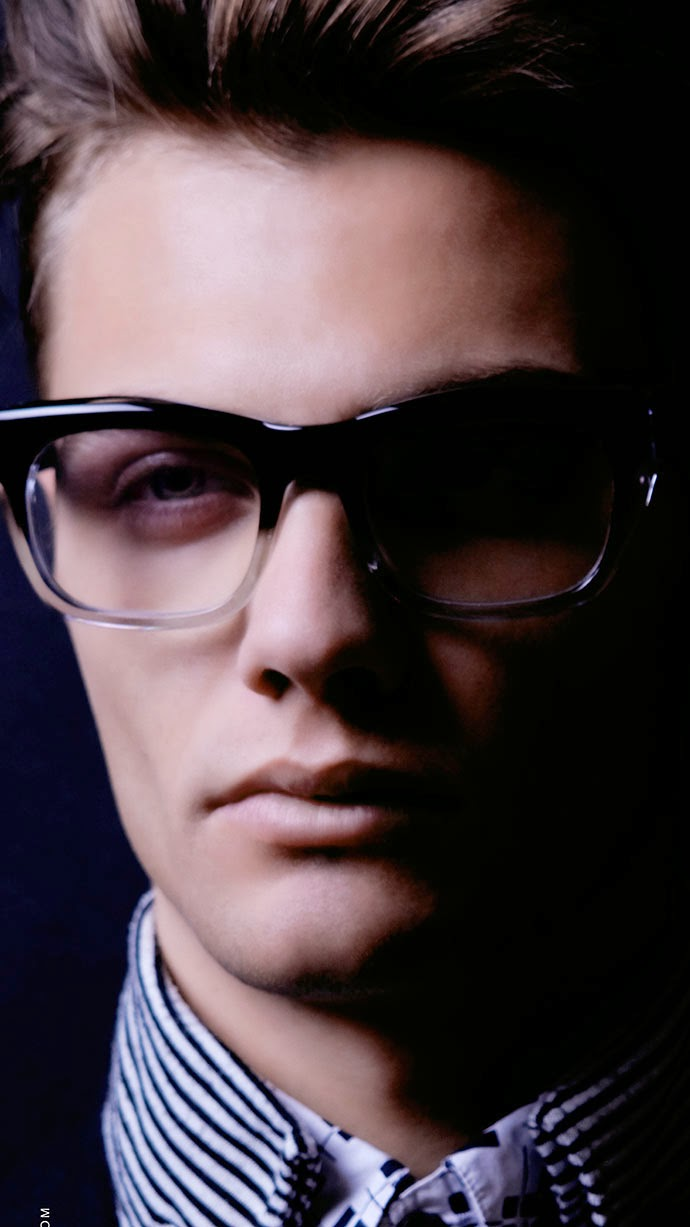Black Eyewear: Robert Roope's Jazz-inspired frames: Buster