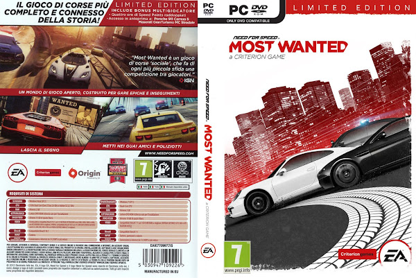 Need for speed most wanted 2012 pc portada