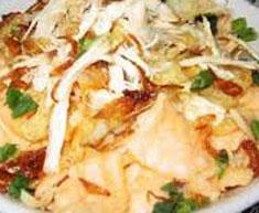 Resep makanan indonesia bubur ayam spesial (istimewa) khas betawi (Jakarta) praktis mudah sedap, enak, nikmat,  gurih  lezat