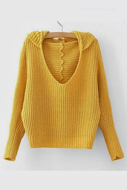 Stunning Yellow Color Sweater