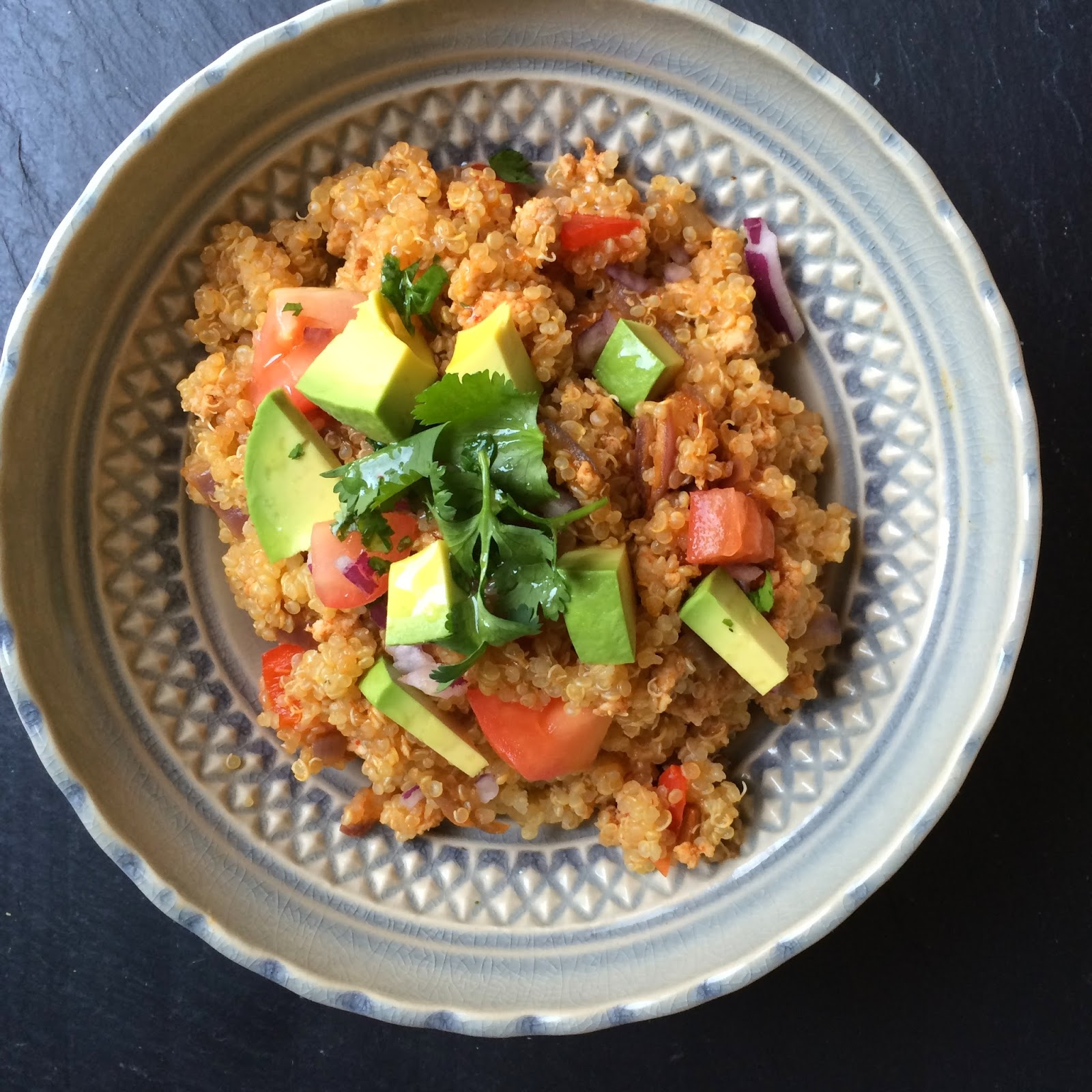Clean Eating Taco Quinoa Bowls