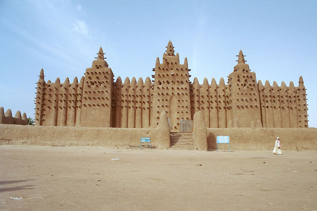 Worlds Incredible Timbuktu City In Northeastern Mali