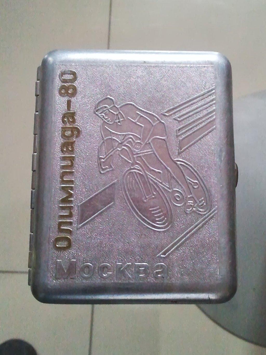 Портсигар с символикой Олимпиады-80