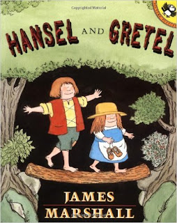 http://www.amazon.com/Hansel-Gretel-Picture-Puffins-Marshall/dp/0140508368/ref=sr_1_4?ie=UTF8&qid=1449506018&sr=8-4&keywords=hansel+and+gretel