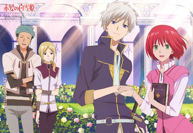 الحلقة الثانية من الموسم الثاني Akagami no Shirayuki-hime S2 - 02 tumblr_nrihyqYMLP1qm