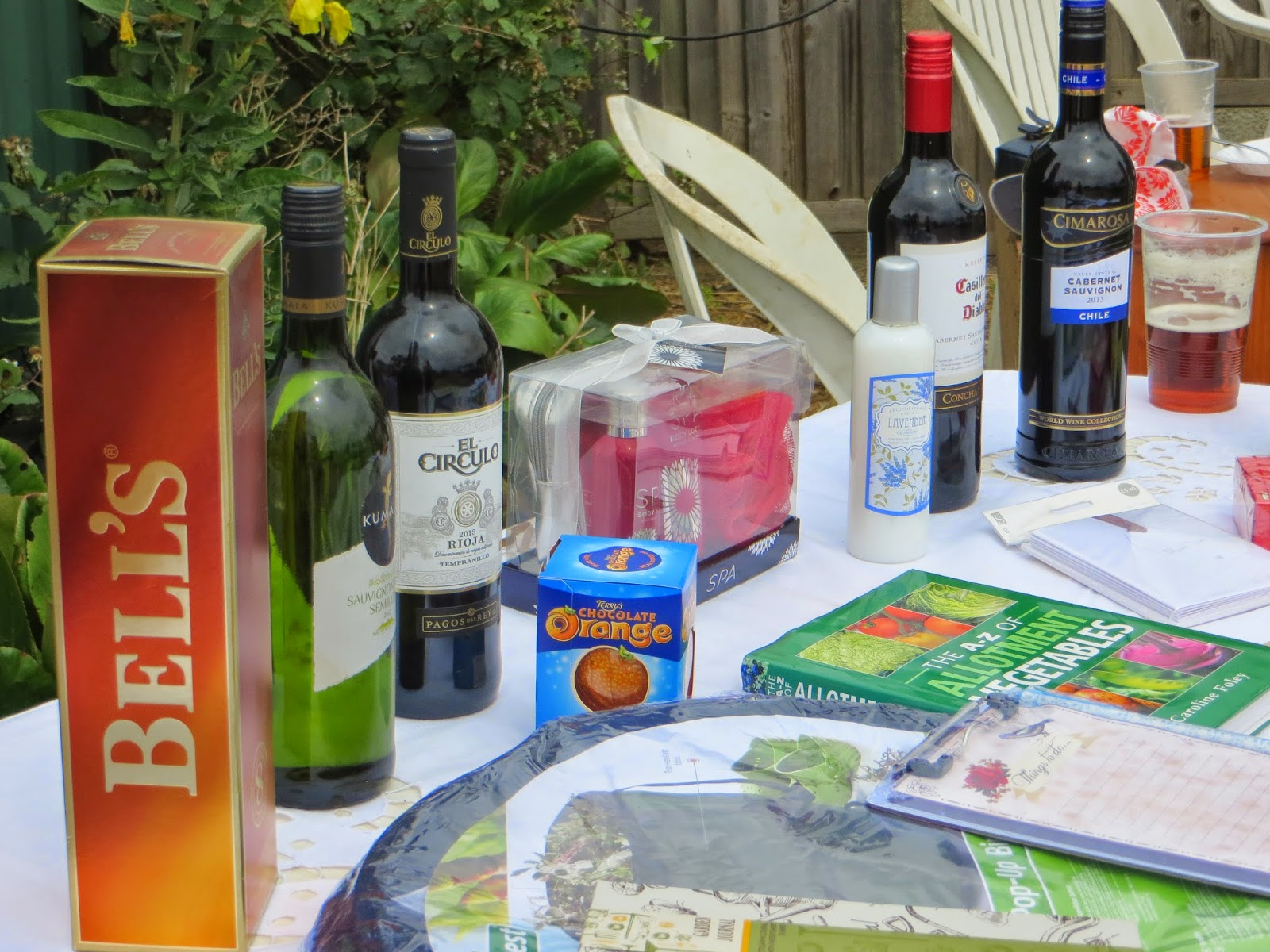 And then there was the raffle with a good selection of prizes.