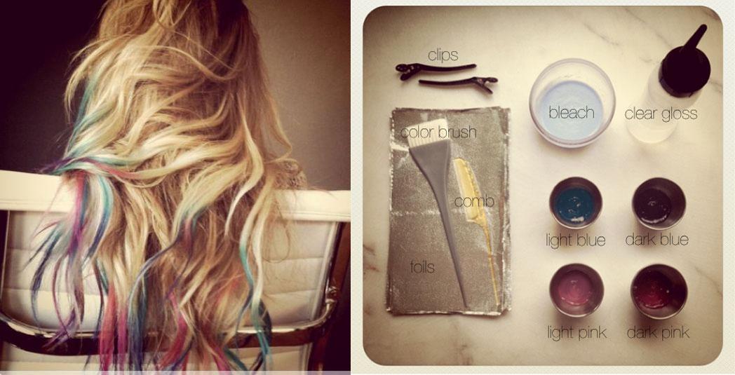 lauren1 O cabelo colorido da Lauren Conrad