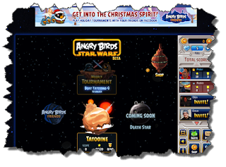 Angry Birds Star Wars on facebook