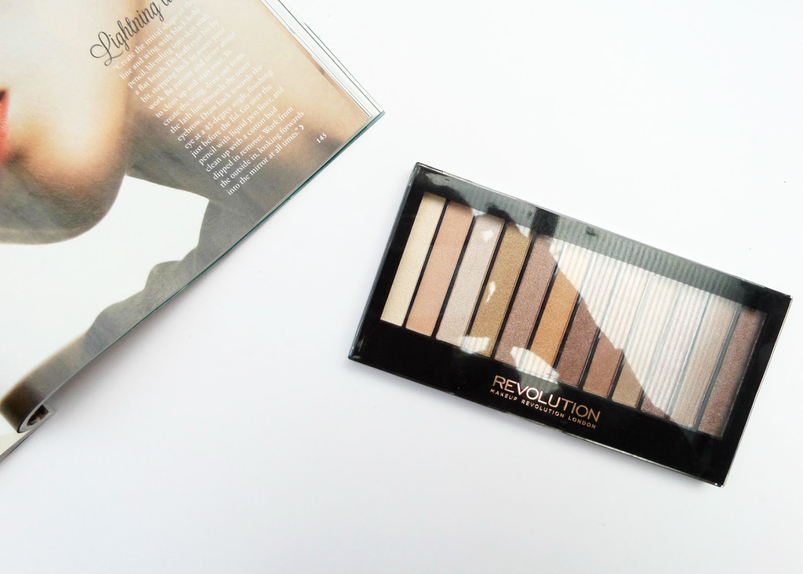 Makeup Revolution Essential Shimmer Eyeshadow Palette Review