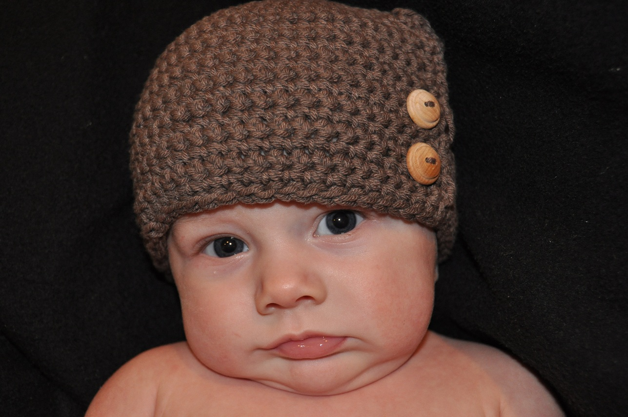 crochet baby hat-Knitting Gallery