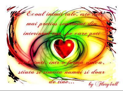 ecoul inimii tale, iubire