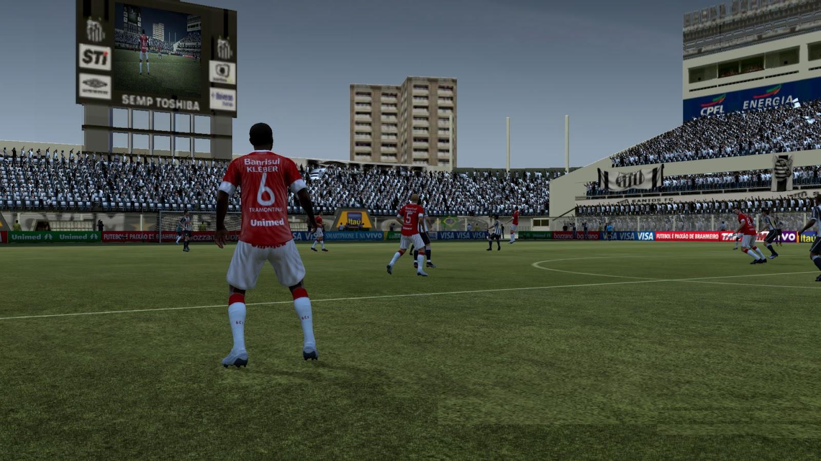 fifa12 vila+belmiro1 FIFA 12: Estádio Vila Belmiro