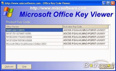 ms office 7 activation code