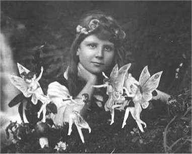 real fairies, cottingley