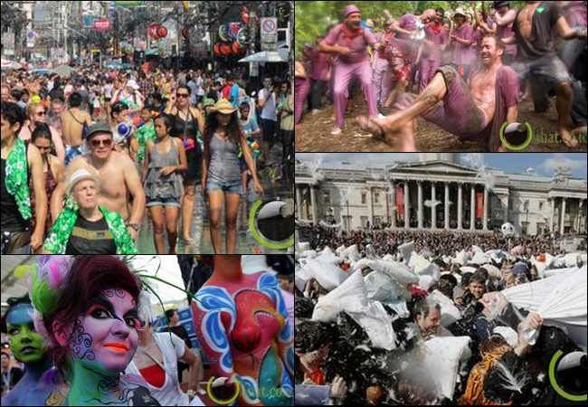 6 Acara Festival yang paling Kacau di Dunia