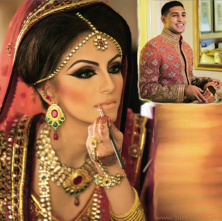 faryal makhdoom wedding makeup