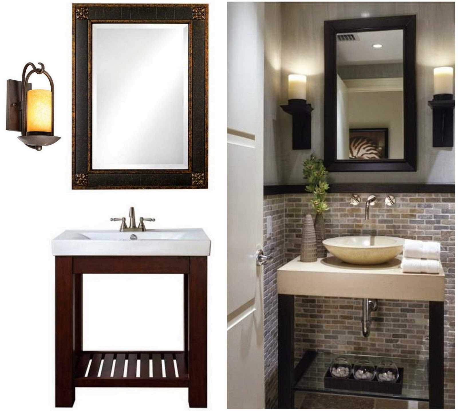 A-Modern-Bathroom-Vanity-In-A-Small-Space