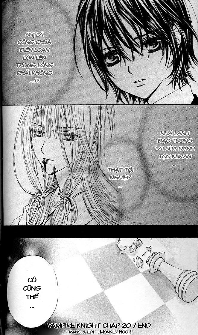 Vampire Knight Chapter 20 - Trang 49