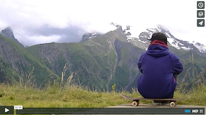 [VIDEO] Skate en 2 alpes