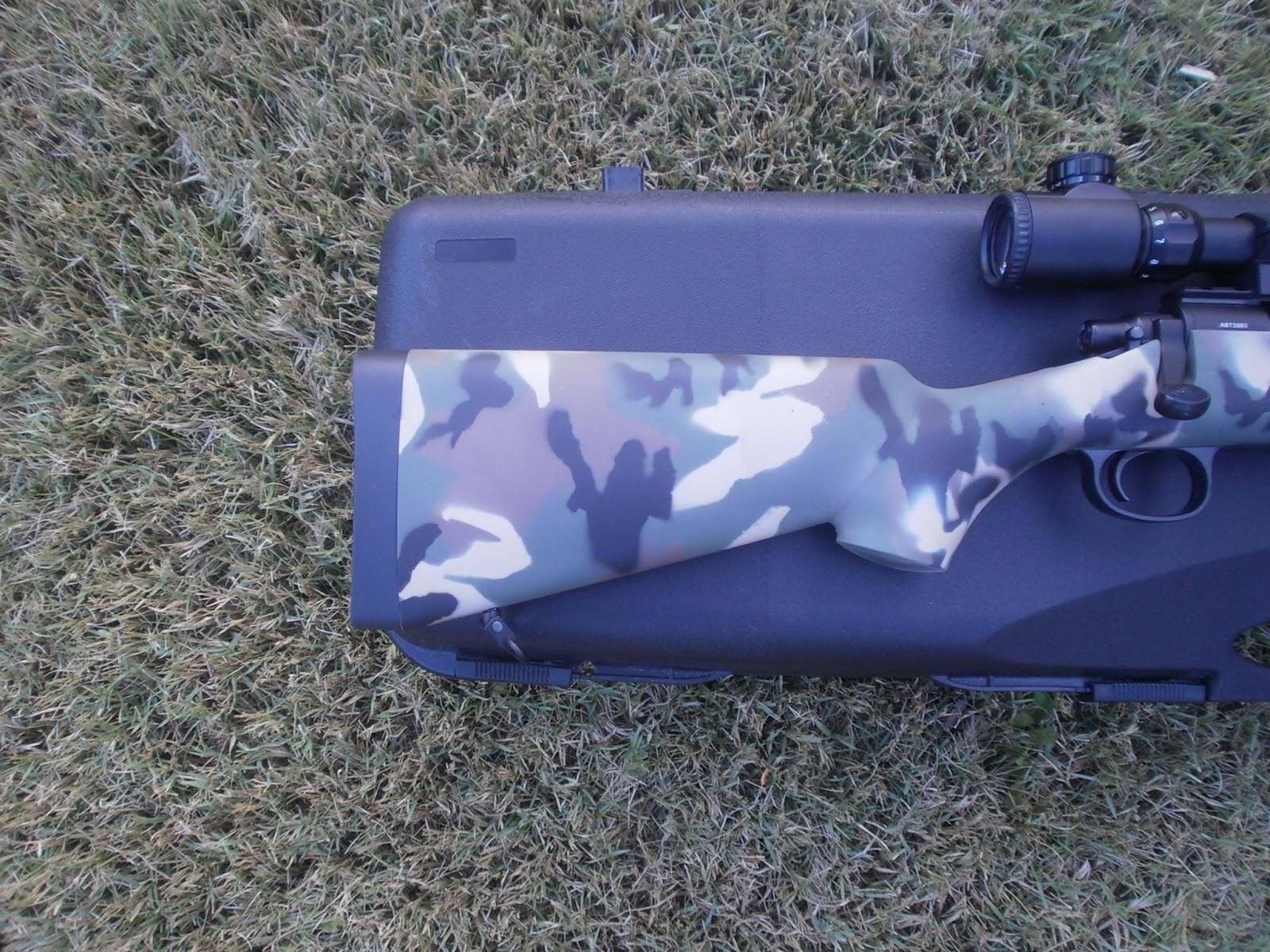 "VSR-10 Marui ""EME-Custom camo: USMC M40A1""  P1011434"