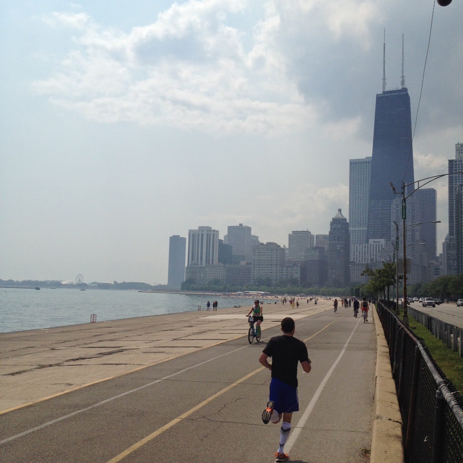 Chicago Lake Front Path