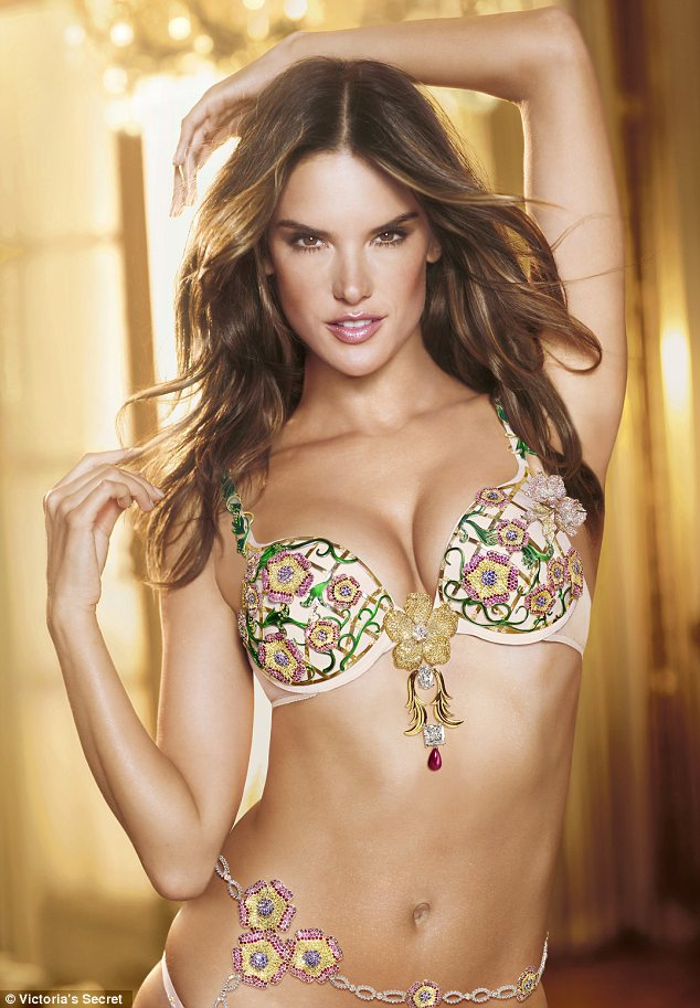 20 carat diamond studded bra