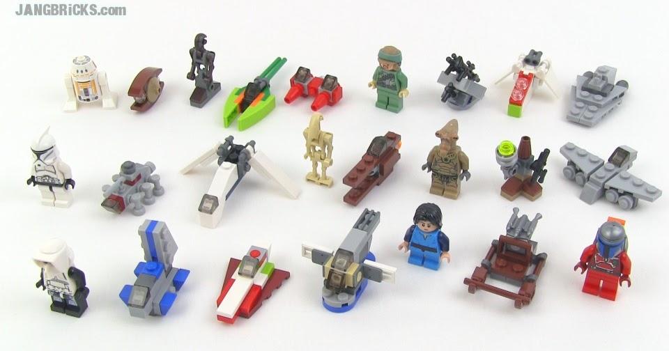 Lego Star Wars 2013 Advent Calendar Review