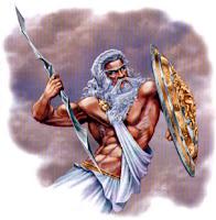 Dios Griego: Zeus . Grecia. Dioses Griegos. Historia de Grecia. Mitologia Griega