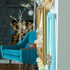 DIY Framed Holiday Ornaments