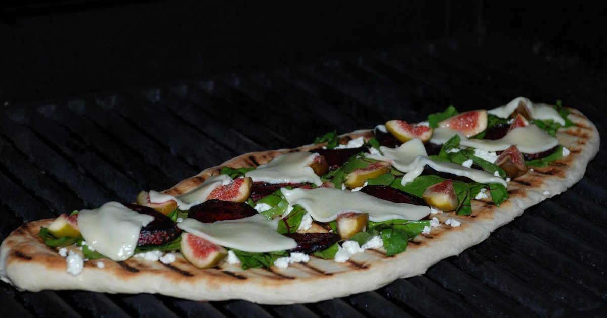 ... Vine: Grilled Goat Cheese Pizza with Figs, Beets, and Wilted Greens