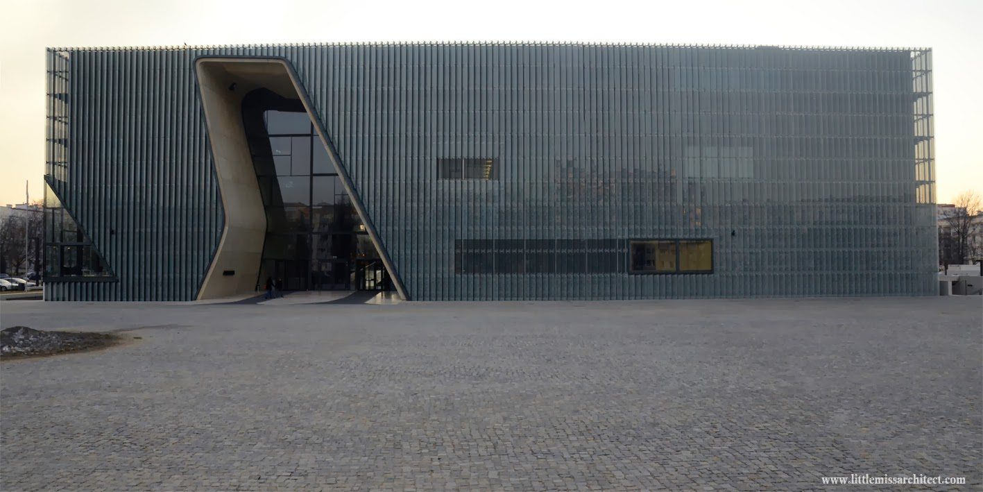 architecture Museum of History of Polish Jews