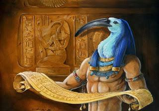 Toth, o escriba dos Deuses