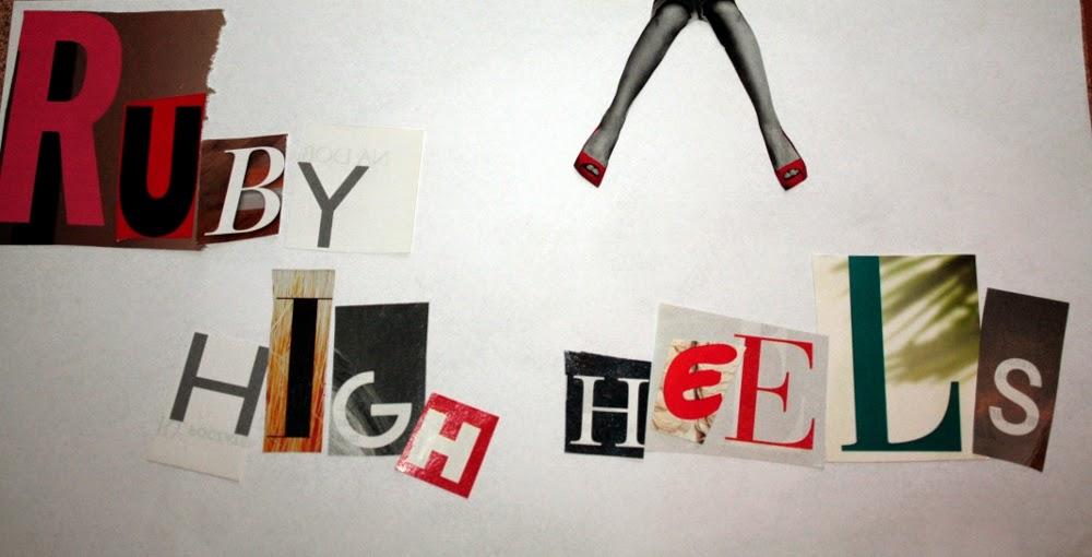 Ruby high-heels