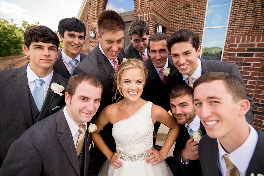 Wedding at Christendom College Chapel