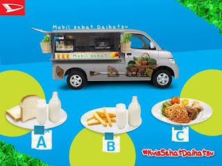 Info Kuis - Kuis Daihatsu Sehat Berhadiah Voucher Belanja Total 300K