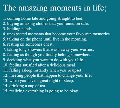 Amazing Moments in Real Life