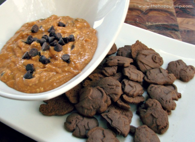 Fall NestingChocolate Chip Pumpkin Dip {Day 11} The Happy Tulip