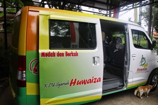 Koperasi Syariah Huwaiza Luncurkan Mobil Kas Keliling