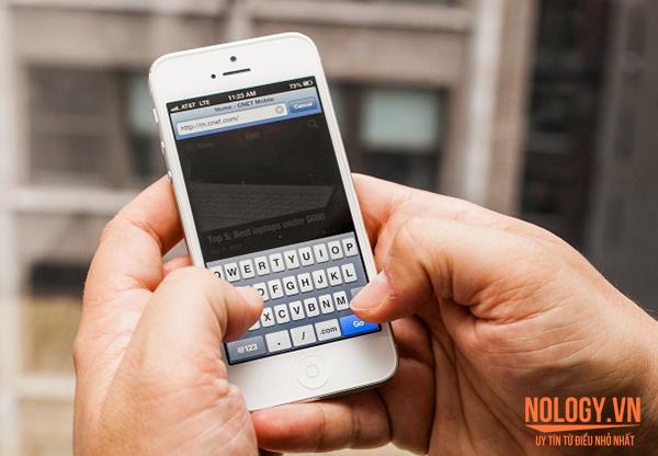 Dễ dàng truy cập mạng nhanh bằng iphone 5 lock nhật