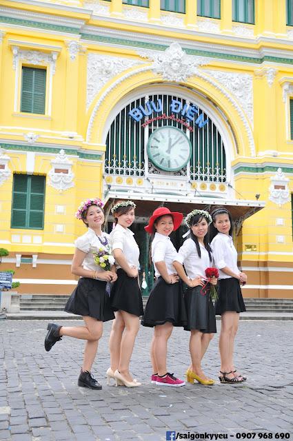 Bưu điện thành Phố - Quản lý 6 - Đại học văn hóa